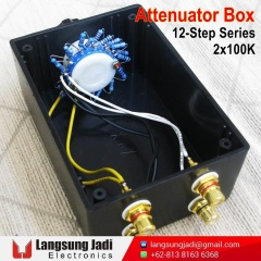 2x100K 12-Step Series Attenuator Box -1