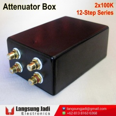 2x100K 12-Step Series Attenuator Box -4