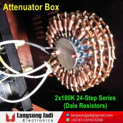 2x100K 24-Step Series Attenuator Box (Dale) -2