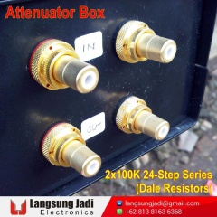 2x100K 24-Step Series Attenuator Box (Dale) -4