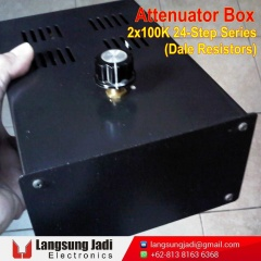 2x100K 24-Step Series Attenuator Box (Dale) -3