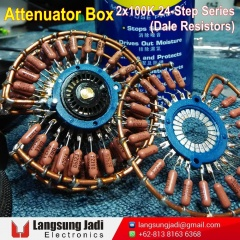 2x100K 24-Step Series Attenuator Box (Dale) -5