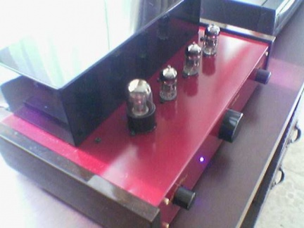 6h1n Triple-Parallel Line PreAmp (Red Maroon -MGM) --