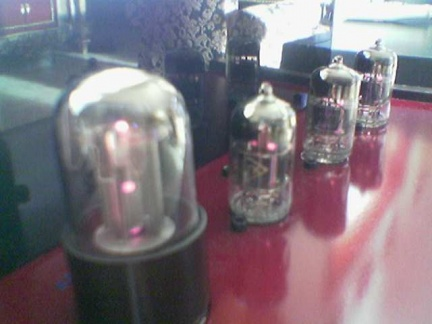 6h1n Triple-Parallel Line PreAmp (Red Maroon -MGM) -4