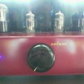 6h1n Triple-Parallel Line PreAmp (Red Maroon -MGM) -1