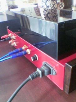 6h1n Triple-Parallel Line PreAmp (Red Maroon -MGM) -5