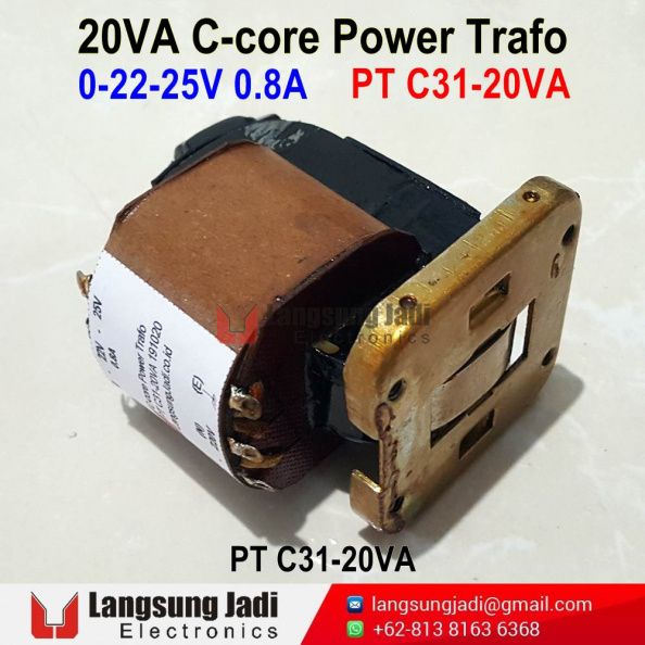 PT C31-20VA C-Core Power Trafo 20201019 -1