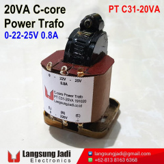 PT C31-20VA C-Core Power Trafo 20201019 -2