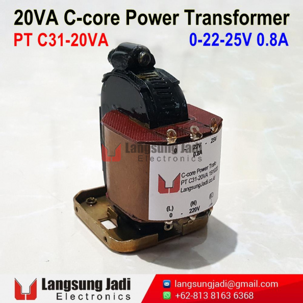 PT C31-20VA C-Core Power Trafo 20201019 -3