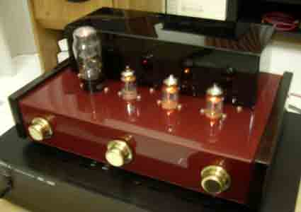 6h1n Triple-Parallel Line PreAmp (Red Maroon)
